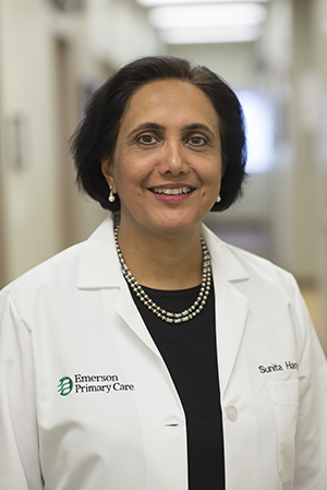 Dr. Sunita Hanjura of Emerson Primary Care Associates of Bedford
